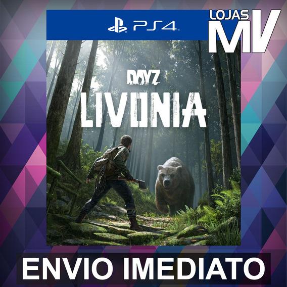 Dayz Dlc Expansao Livonia Ps4 Playstation Código 12 Dígitos