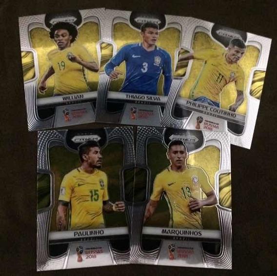 Cards Copa 2018 Panini Prizm (lote Brasil)