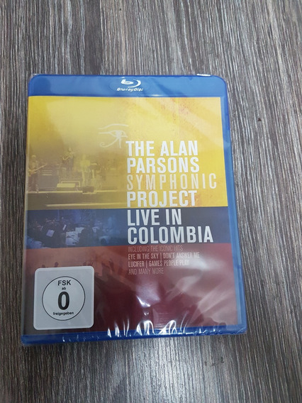 Alan Parsons Symphonic Project - Live In Colombia - Blu Ray