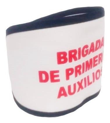 Imagen 1 de 1 de Brazalete De Identificación Brigadista Alta Visibilidad