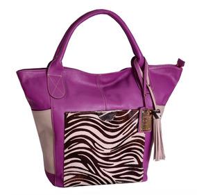 Bolsa Sacola Em Couro Shopping Bag