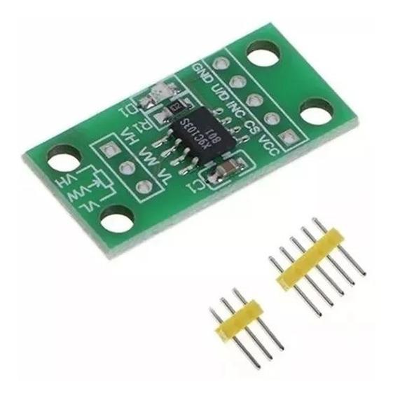 Módulo Potenciômetro Digital X9c103 3v-5v Arduino X9c103s