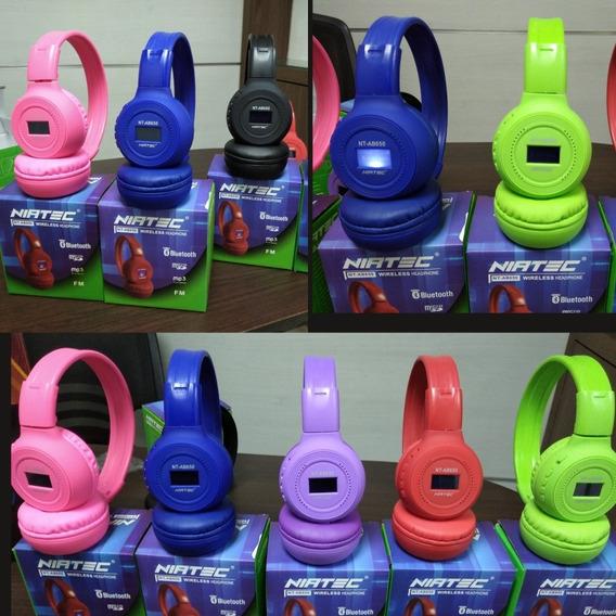 Audífonos Colores Bluetooth Inalambricos Ideal Navidad
