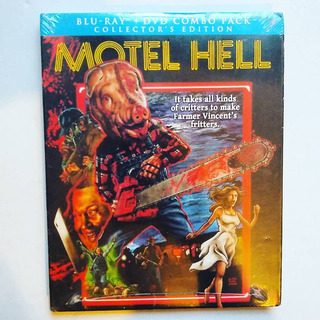 Motel Hell Blu-ray + Dvd Collector Edition Slipcase