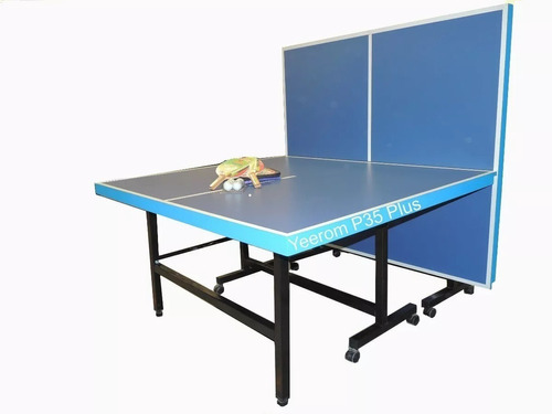 Mesa De Ping Pong Plus Profesional Plegable Reforzad Yeerom®