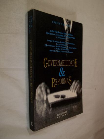 Livro - Governabilidade & Reformas - Fórum Nacional