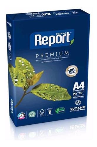 Resma Papel A4 75 G 500 Hojas Report Premium