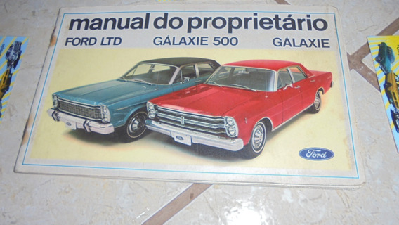 Galaxie 500 E Ltd 1969 Manual Do Proprietário Original