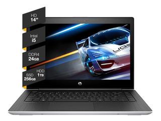 Notebook Hp Intel I5 24gb Ram 1tb + 256gb Ssd 14hd Win10