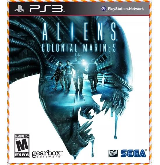 Aliens Colonial Marines Ps3 Psn Jogo Original Envio Rápido