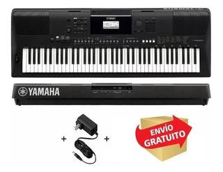 Teclado Yamaha Psrew410 De 76 Teclas Sensitivo Fuente Envio
