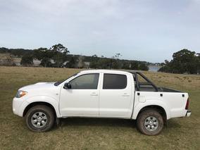 Toyota Hilux 08 3.0 D Perfecta, Únic Dueño, 4x4, Autom