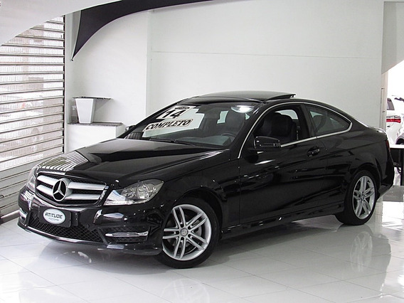 Mercedes-benz C 180 1.6 Cgi Coupe Turbo 2p 2014 Teto Solar