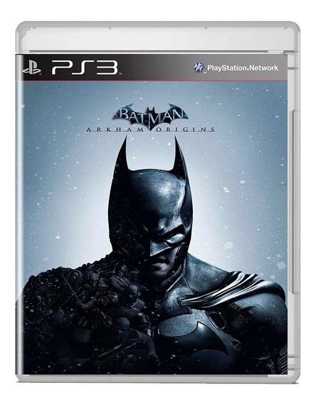 Batman Arkham Origins Ps3 Midia Fisica Pronta Entrega