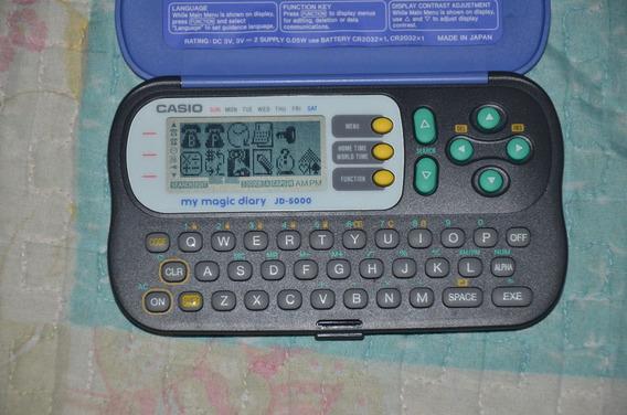 Agenda Eletrônica Casio - My Magic Diary