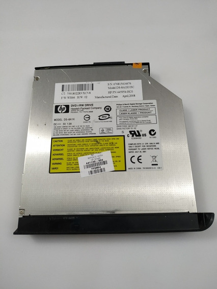 Drive Gravador Dvd Cd Notebook Hp Pavilion Tx 2000 Tx 2110