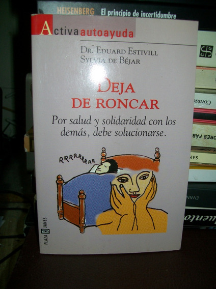 Deja De Roncar Dr, Eduard Estivill