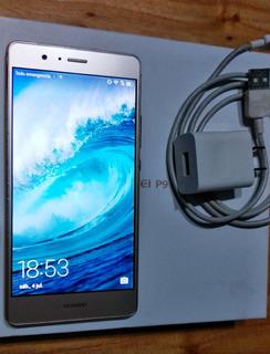 Huawei P9 Lite Dorado 16gb 2gb Ram Dual Caja Funda Liberado