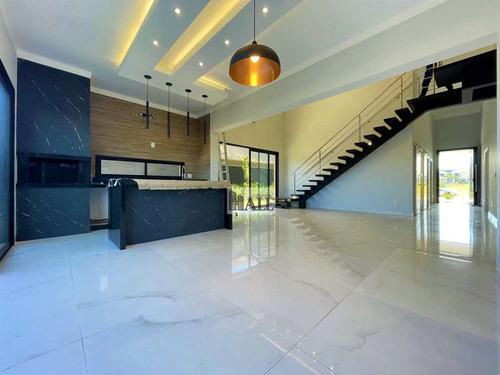 Imagem 1 de 30 de Casa No Condomínio Quinta Do Golfe Com 5 Quartos E 4 Vagas - V8466