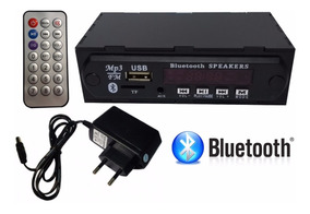 Placa Para Amplificador Usb Mp3 Bluetooth