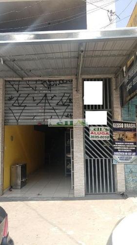 Imagem 1 de 6 de Loja/salão Em Vila Da Oportunidade  -  Carapicuíba - 2840