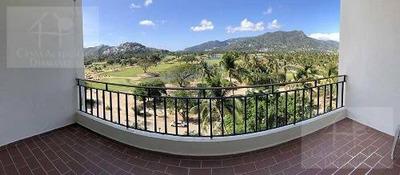 Cad Azteca Princess 603. Terraza Con Vista Al Campo De Golf