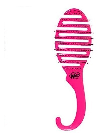 Cepillo Wet Brush Shower Detangler Rosa 1pz