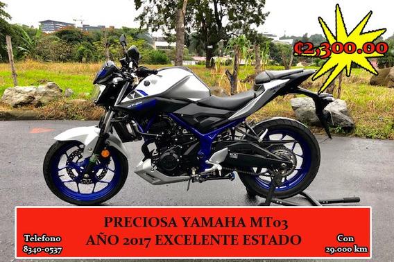 Mt 03 Yamaha 321cc 42hp Excelente Estado