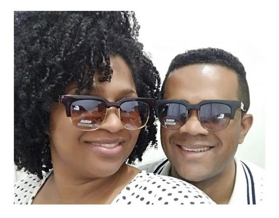 2 Oculos De Sol Unissex Original Com Proteção Com Garantia