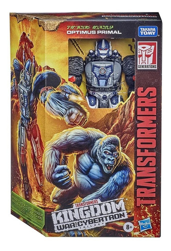 Figura Transformers Optimus Primal 18cm - Kingdom Wfc Hasbro