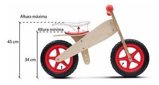 Bicicletas De Madera Para Chicos De 2 A 5 Años Didacticas
