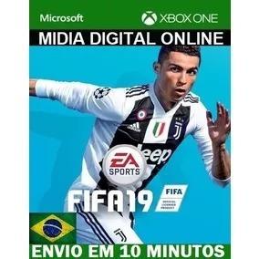 Fifa 19 | Fifa 2019 Xbox One - Midia Digital Online Ptbr