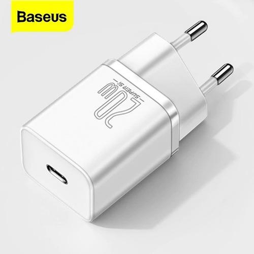 Imagem 1 de 8 de Carregador Tomada Usb Pd Quick Charge 20w iPhone 12 Baseus