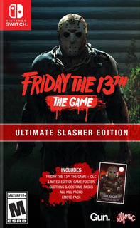 Friday The 13th Game Ultimate Slasher Edition Nintendo Sw
