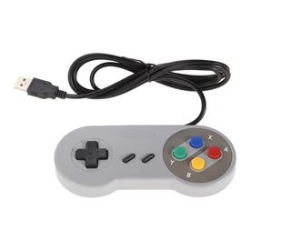 Control Joystick Super Nintendo Snes Usb Pc - Mac Kioskofast