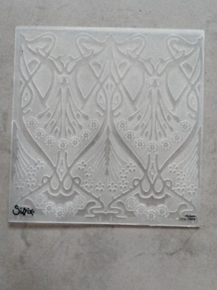 Carpeta De Repujado Marca Sizzix Usada.