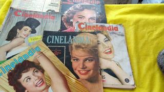 Cinelândia Anos 50 E 60 Lote 6 Revistas Oferta Uma Sem Capa