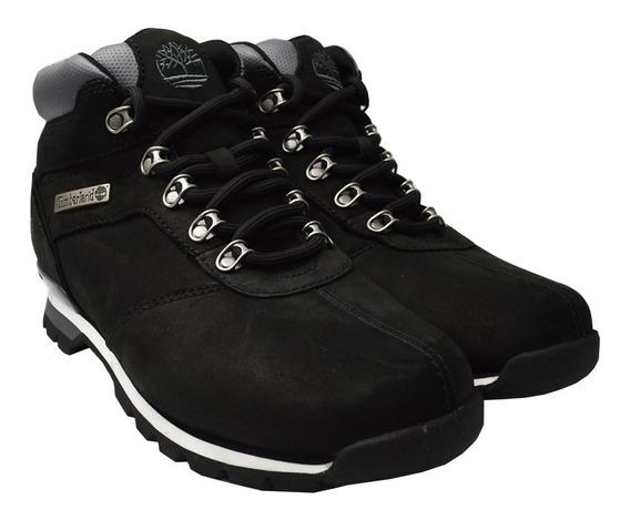 Botas Timberland Hombre Negro Splitrock Mid Hiker Tb06161r00