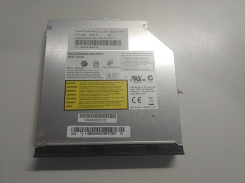 Drive Gravador Dvd Notebook Lenovo Z460
