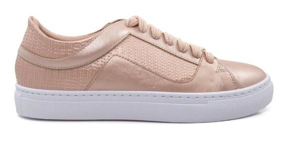Tênis Casual Feminino Olfer Shoes 1272-047 Com Cadarço