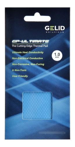Imagen 1 de 4 de Pad Térmico Gelid Gp-ultimate Tp-gp04-b 15w 90x50x1,0mm