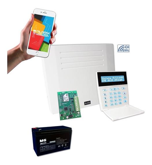 Alarma Para Casa Inalambrica Wifi Bateria - A2k8-rf Lcd