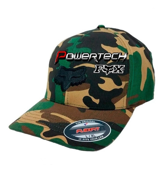 Gorra Camuflada Multicam Fox Original Usa - Flexfit