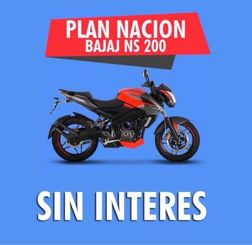 Bajaj  Ns  200  Sin Interes  18 Pagos De $ 17.777