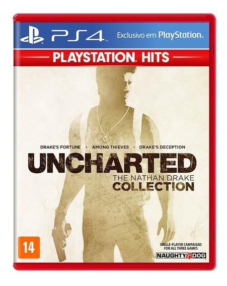 Uncharted The Nathan Drake Collection Ps4 Mídia Física Novo