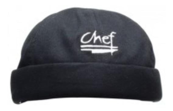Gorro Para Chef Color Negro, Marca Chef Revival Oferta!