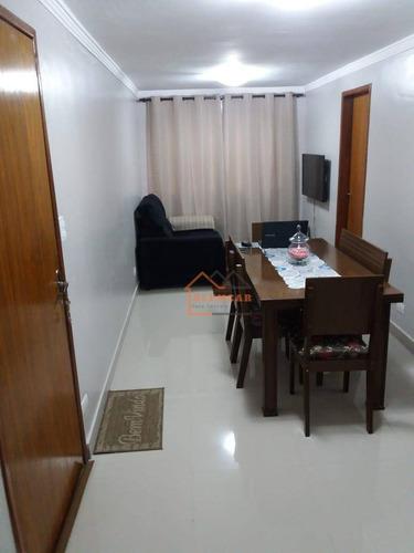 Imagem 1 de 17 de Apartamento Com 2 Dormitórios À Venda, 46 M² Por R$ 150.000,00 - Vila Santa Cruz - São Paulo/sp - Ap0083