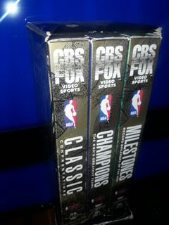 Nba Commemorative Collection 3 Vhs