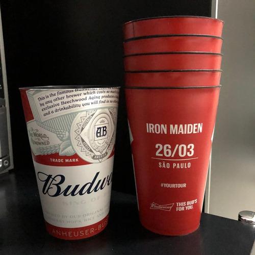 Copo Iron Maiden São Paulo Sp Allianz Budweiser 2016
