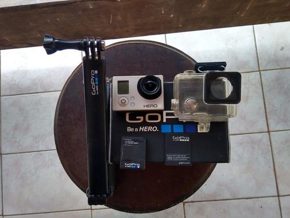 Câmera Gopro Hero 3 White Edition + Tripé + Caixa Estanque